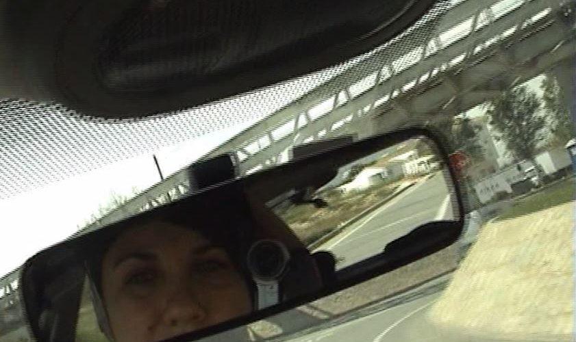 Recorrido en coche Elche-Altea grabado en vídeo mientras se conduce